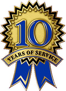 Custom Year Of Service Enamel Lapel Pin